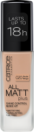 Основа тональная CATRICE All Matt Plus Shine Control Make Up 020 Nude Beige бежевый: фото