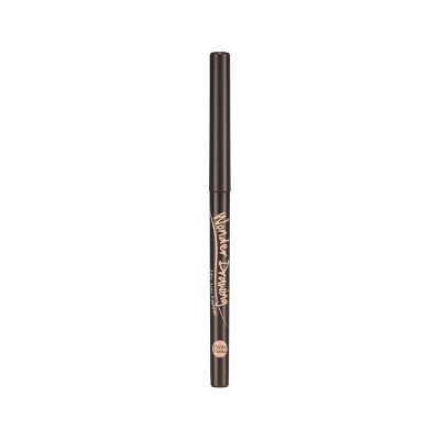 Карандаш-подводка автоматический Holika Holika Wonder Drawing Auto Eyeliner тон 02, коричневый: фото