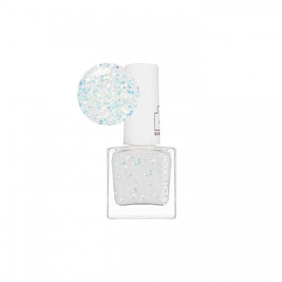 Лак для ногтей Holika Holika Piece Matching Nails Sparkling, тон WH02, бело-голубой: фото