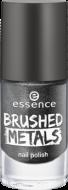 Лак для ногтей Вrushed metals nail polish Essence 06 серый металлик: фото
