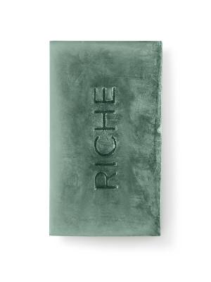 Натуральное мыло с голубой глиной Riche Cosmetics 110гр: фото
