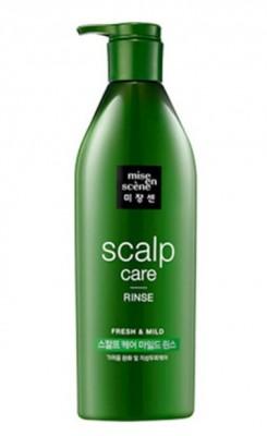 Восстанавливающий кондиционер для чувствительной кожи головы MISE EN SCENE Scalp Care Rinse: фото