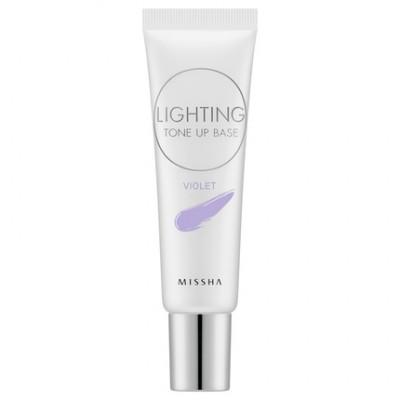 Основа под макияж MISSHA Lighting Tone Up Base SPF30 PA++ Violet: фото