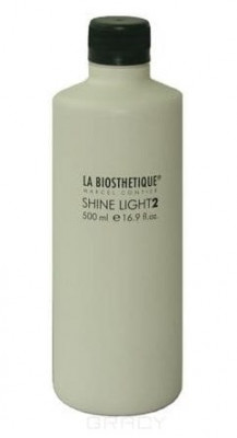 Эмульсия окисляющая для щадящего осветления La Biosthetique Shine Light 2 500мл: фото