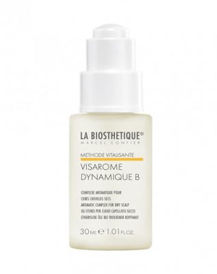 Аромакомплекс для сухой кожи головы La Biosthetique Visarome Dynamique B 30мл: фото
