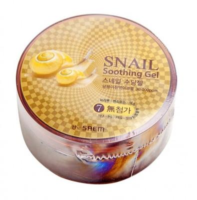 Гель с улиточным экстрактом THE SAEM Snail Soothing Gel 300мл: фото