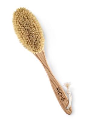 Дренажная щётка для сухого массажа Riche из дуба: фото