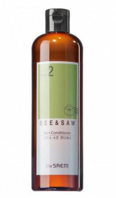 Лосьон-кондиционер для ухода за проблемной кожей THE SAEM SEE&SAW Skin Conditioner 500мл: фото