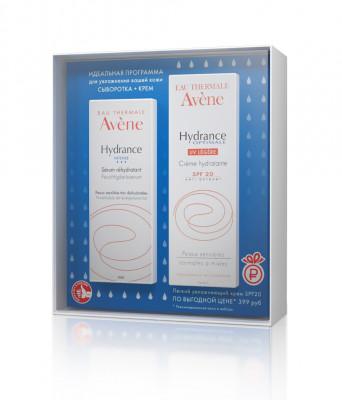 Набор AVENE Hydrance Optimale Увлажняющая сыворотка 30 мл + UV20 ЛЕЖЕР Легкий увлажняющий крем SPF20 40 мл: фото