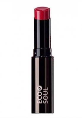 Помада увлажняющая сияющая THE SAEM Eco Soul Moisture Shine Lipstick RD03 Daehagno red 5,5г: фото
