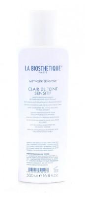 Молочко мягкое очищающее для чувствительной кожи La Biosthetique Clair de Teint Sensitif 500мл: фото