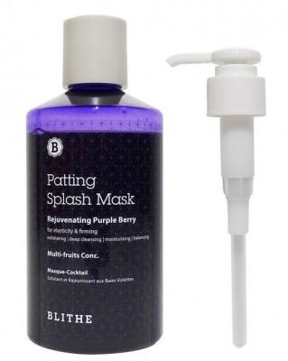Сплэш-маска антивозрастная BLITHE Patting Splash Mask Rejuvenating Purple Berry 300 мл: фото