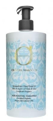 Шампунь питательный с маслом арганы и маслом семян льна Barex Olioseta Oro Del Marocco Nourishing Shampoo: фото