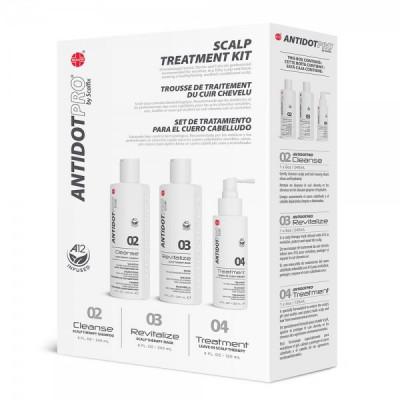 Набор Комплексный уход для чувствительной кожи головы ANTIDOTPRO Scalp Treatment 240мл+240+120мл: фото