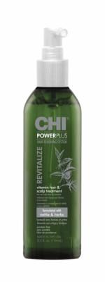 Средство восстанавливающее для волос и кожи головы CHI Power Plus 104 мл: фото